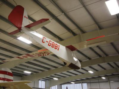 Scheibe L-Spatz 55 (Sparrow) Glider